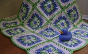 Boy's Baby Blanket